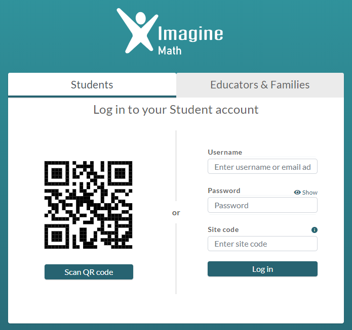 Student Log In